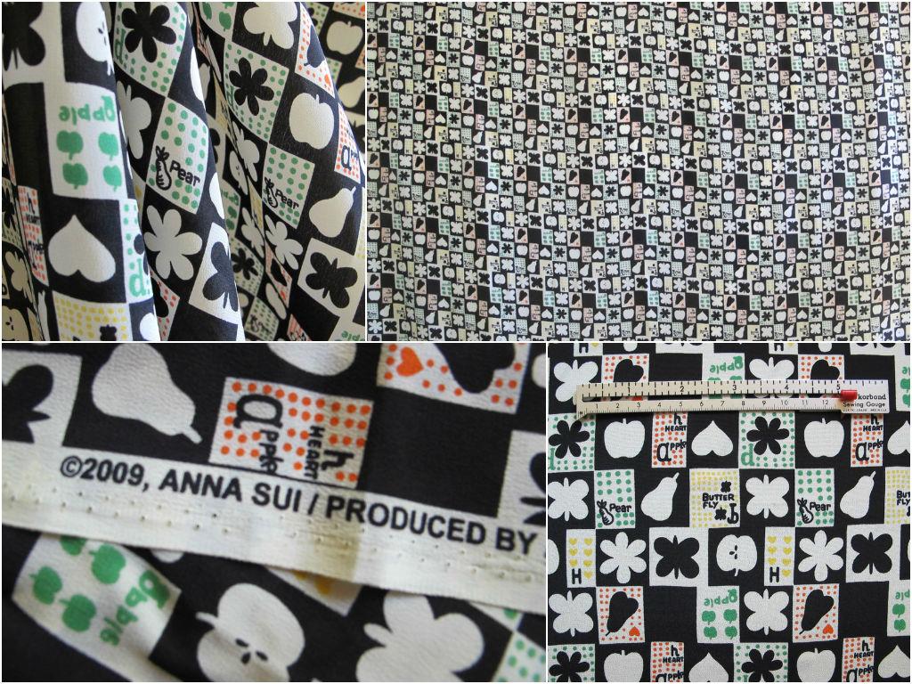 Anna Sui silk