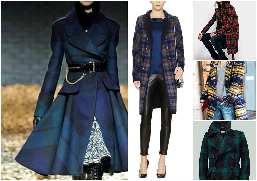 Plaid coats
