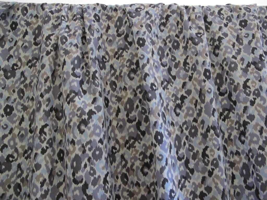 Soft animal print cotton price drop designer fabrics for Designer animal print fabric